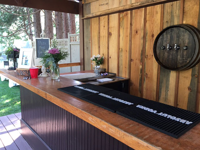 Bar - Rogue River wedding