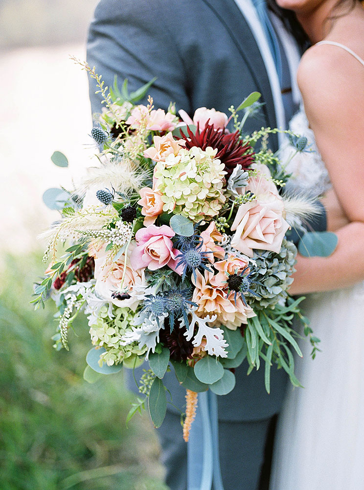 Flowers - Rogue River wedding